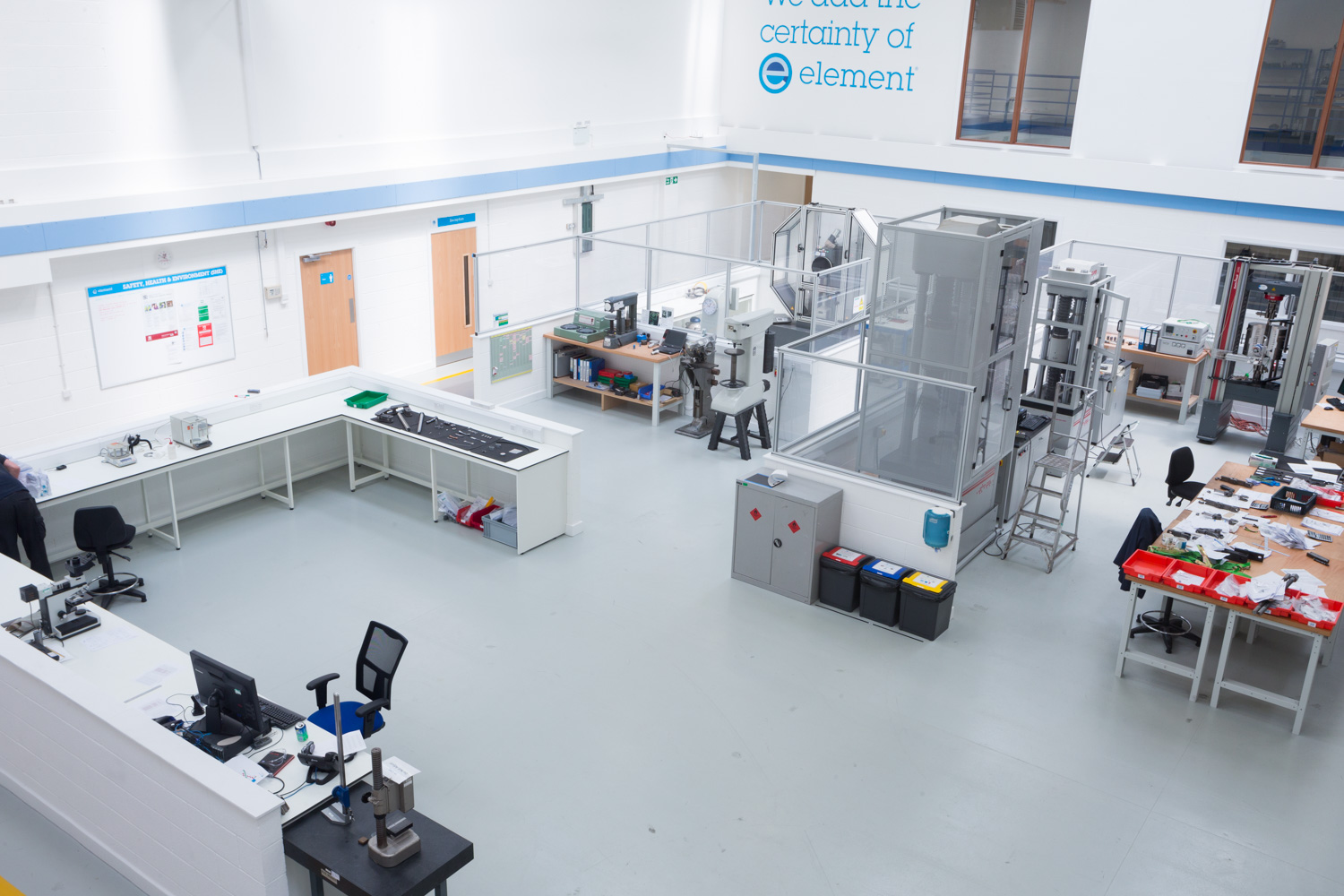 Element Material Testing – Kastner help move to new labs