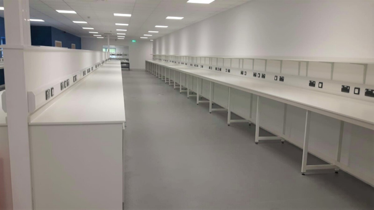 Kastner complete lab fit out at Vista for Beacons Business Interiors
